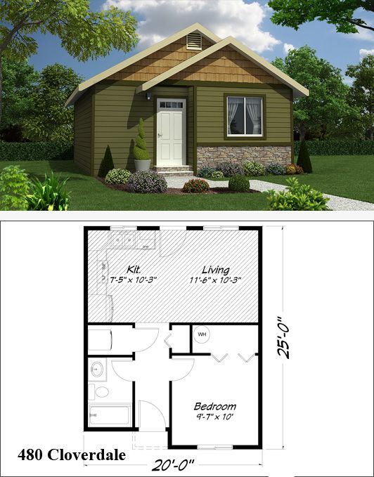 115 best granny flats images on pinterest tiny for Granny cottage plans