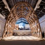 Gabinete de Arquitectura presents latticed brick arch at Venice Biennale