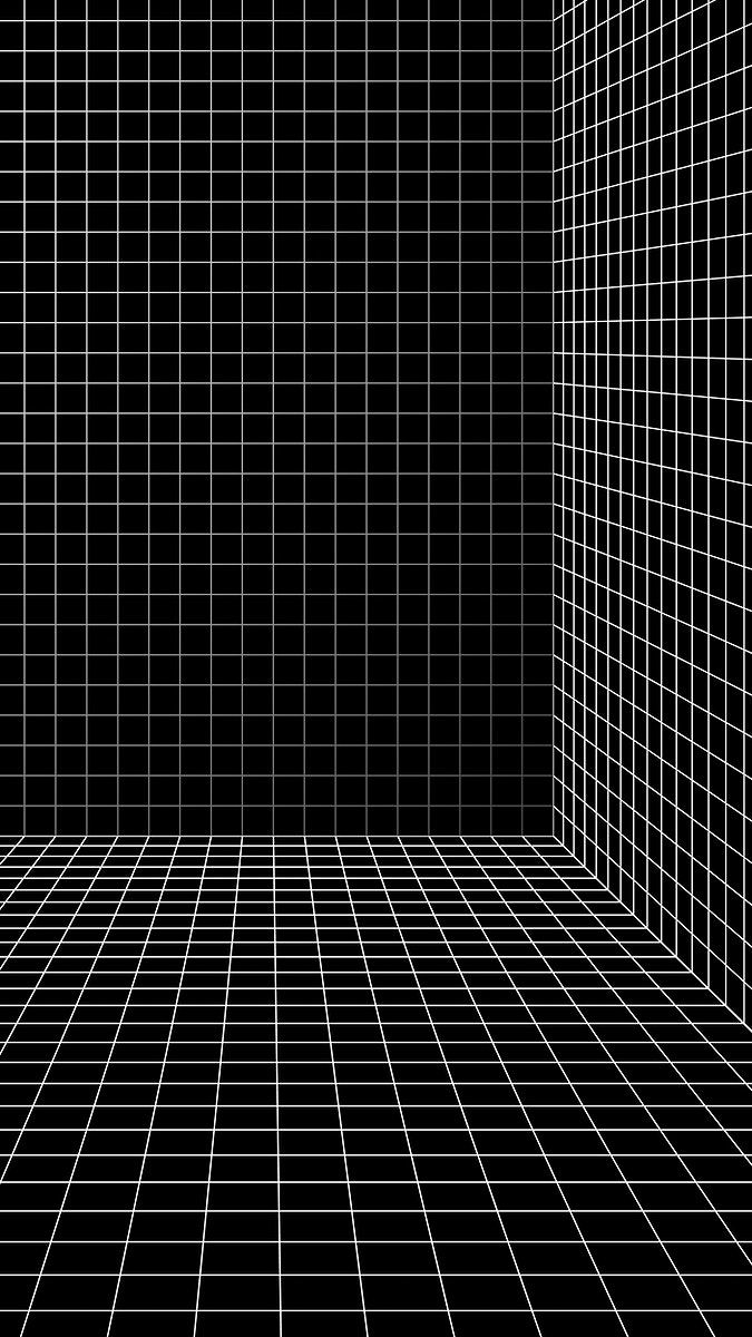 3d Wireframe Grid Room Background Vector Free Image By Rawpixel Com Aew Vector Free Wireframe Background