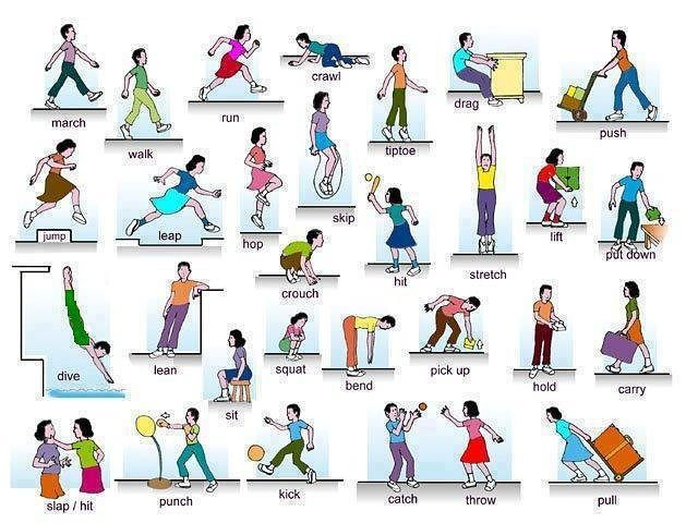 Forum | Learn English | English Verbs of Body Movement | Fluent Land