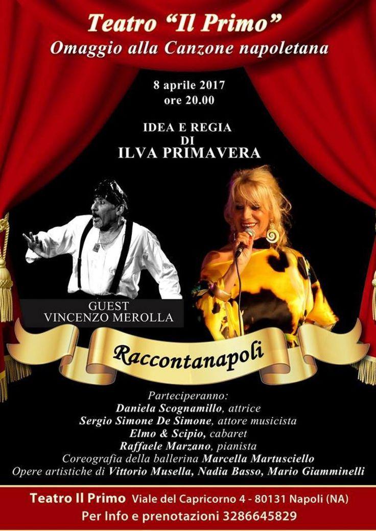 """Al teatro """"Il Primo"""" ai Colli Aminei in scena """"Raccontanapoli"""""""