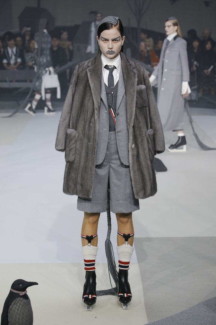 Thom Browne   Ready-to-Wear - Autumn 2017   Look 12