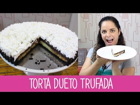 TORTA DUETO TRUFADA - Episódio 273 - Receitas da Mussinha - YouTube