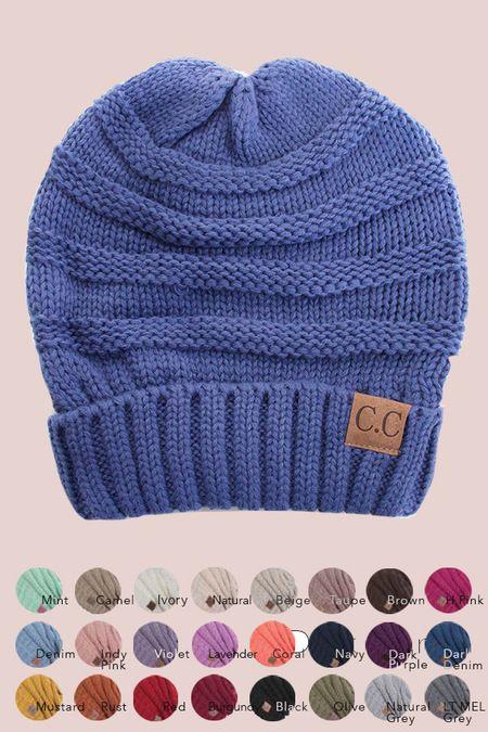 plus CC beanie hat *** wholesale
