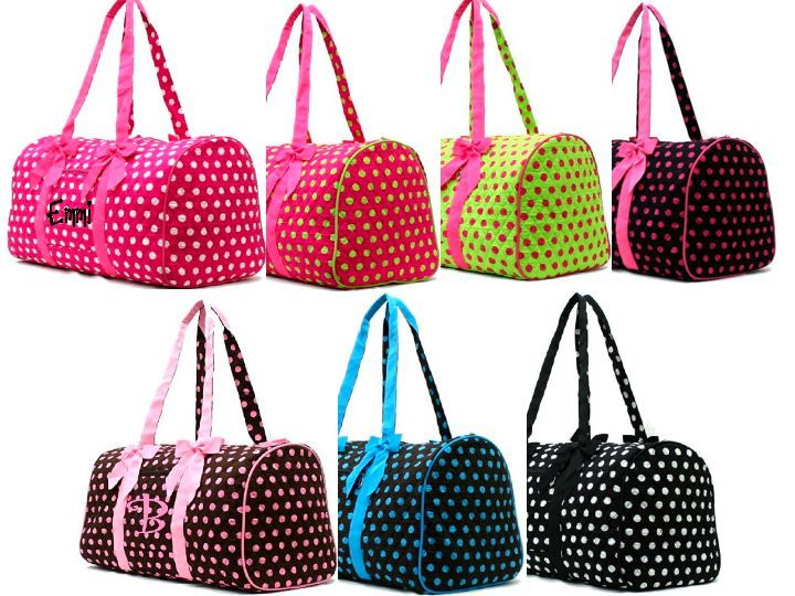 15 Best Duffel Bags Polka Dotted Images On Pinterest