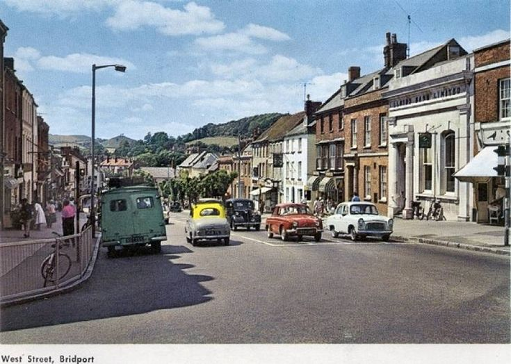 Bridport - West Street - 1960's