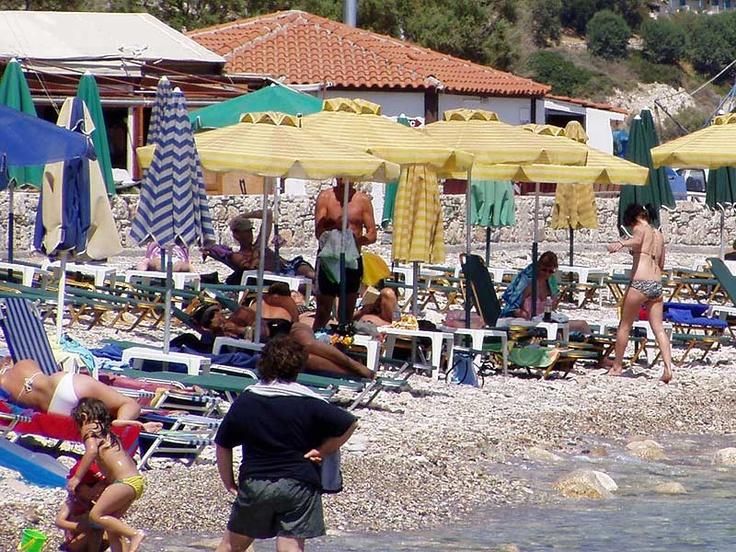 Small beach in Pythagorio