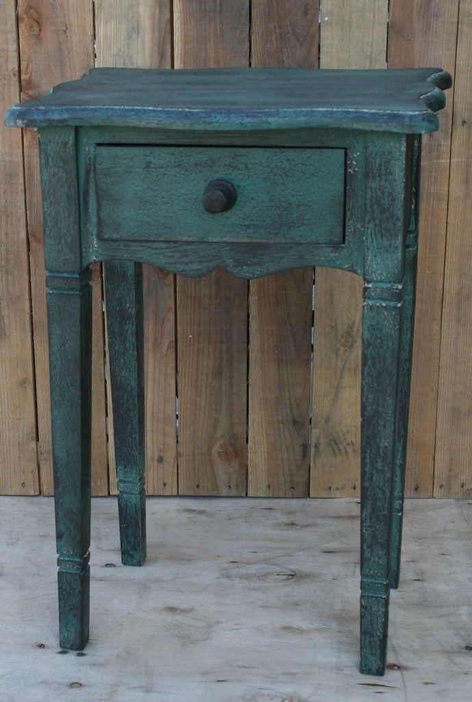 Awesome Color! Small side table @ Rodworks.: Awesome Colors