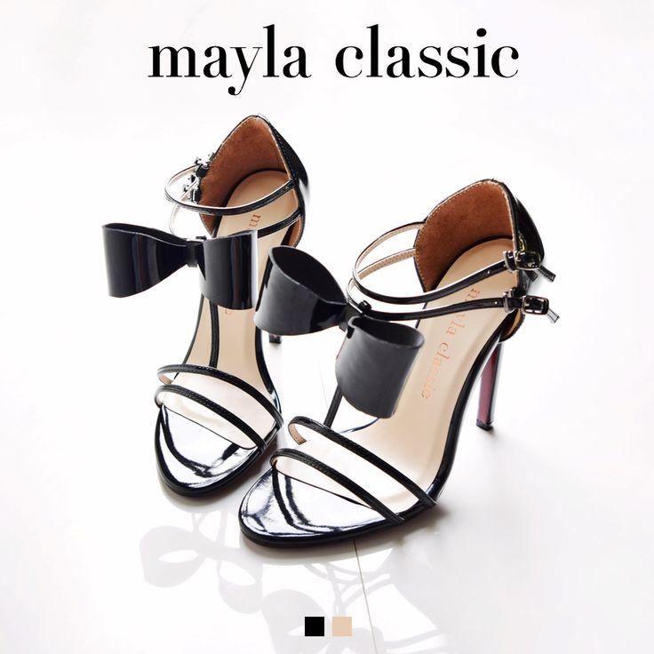 Toranti type21「アッパーとリボンの曲線で魅せる魅惑のシルエット」 #mayla_classic #sandal