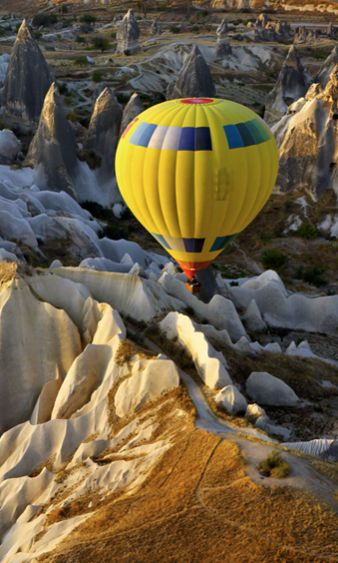 Cappadocia, Anatolia, Turkey #airballoon #travel #turkey