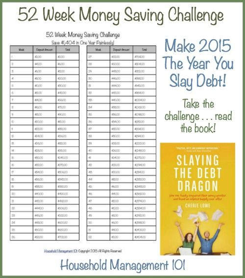 52 Week Money Challenge: Save For A Better Year! | Money ...