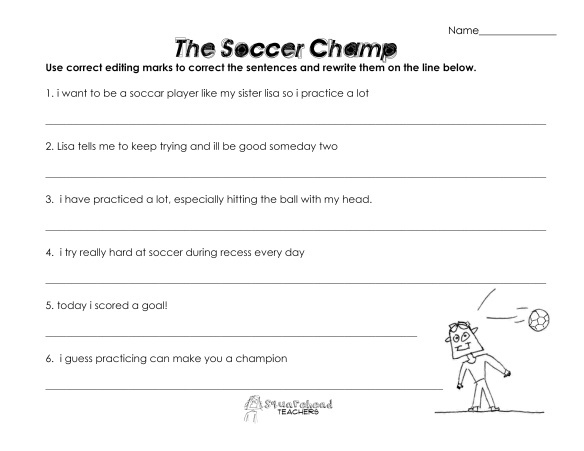 17 Best images about soccer worksheets on Pinterest | Early ...