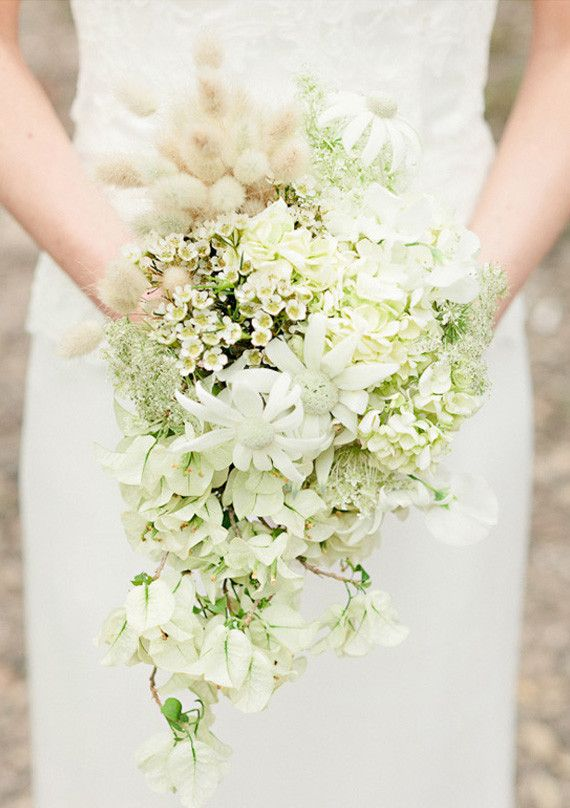 white bougainvillea bouquet  I LOVE this!