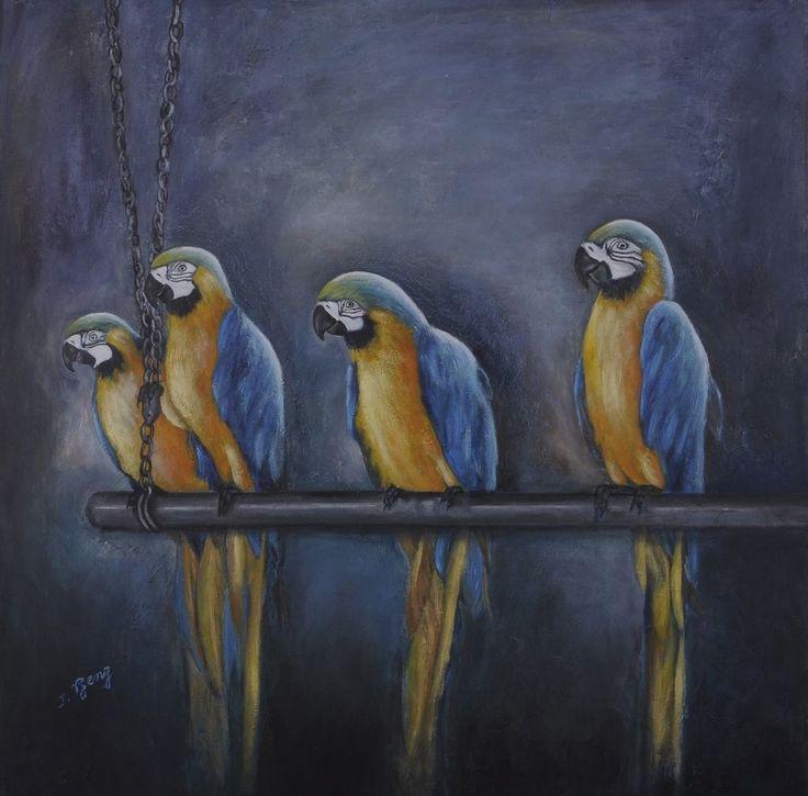 Loros, Iris Benz - Comprar en arte901.com