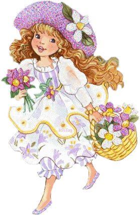 Красивые детские  картинки  девочек фото 1