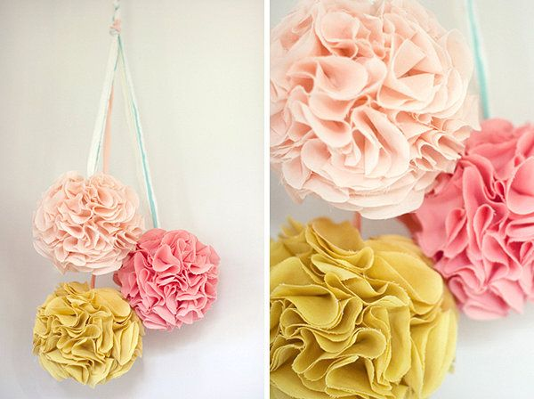 DIY Wedding Decorations. Lots of really good ideas that would be cheap and easy to make.