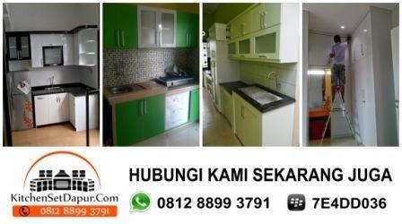 Kitchen Set Minimalis Depok Hub 0812 8899 3791: Jasa Tukang Pembuatan Kitchen Set Depok
