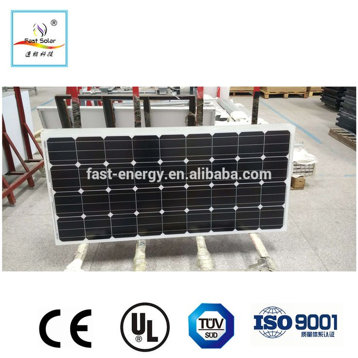 High Efficiency 150W Monocrystalline Solar Module PV Solar Panels for Sale