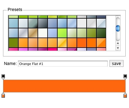 Ultimate CSS Gradient Generator #butons #backgrounds #web tools http://www.colorzilla.com/gradient-editor/