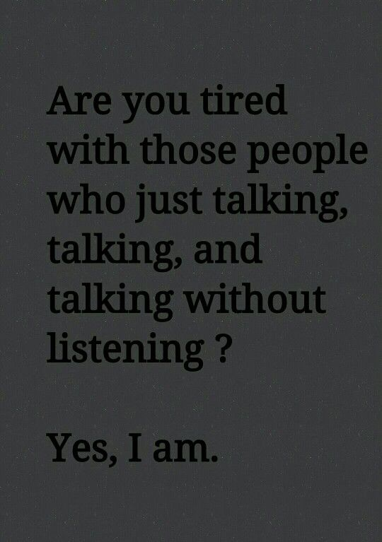 Are you ? This is what I feel.