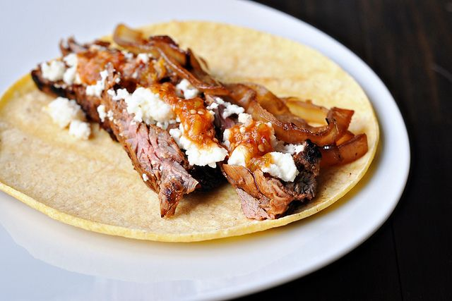 Chipotle Steak Tacos with Caramelized Onions by Courtney | Cook Like a Champion, via Flickr