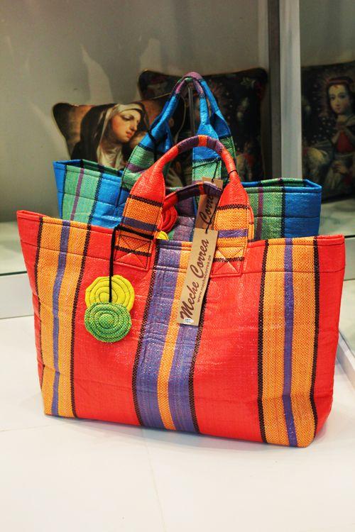 Meche Correa recycling Peruvian style!!!