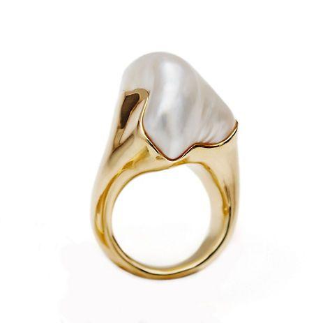 keshi pearl ring - Google Search