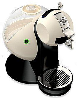 Капсульная кофемашина Krups Nescafe Dolce Gusto Melody 2 KP2102 молочная