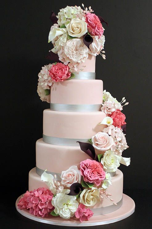 17 Best 1000 images about Wedding cakes on Pinterest Cake central