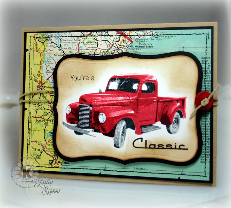 Stampin With Julie: You're a Classic - July 9, 2012!