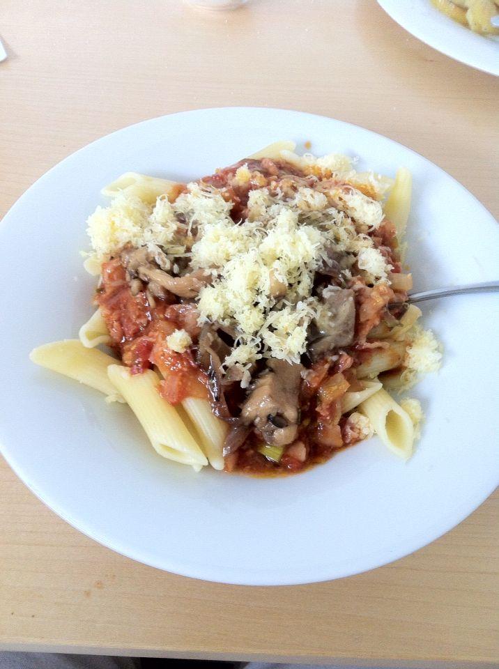 Italian penne #italian #penne #tomatto #cheesse
