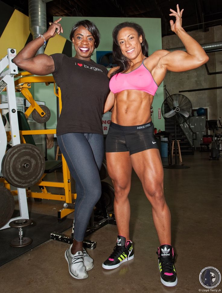 IFBB Pro Olivia Terry & IFBB Pro Asha Hadley, Women's ...