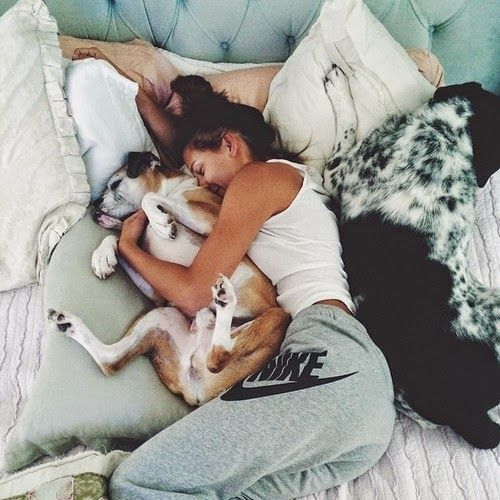 puppy snuggles!