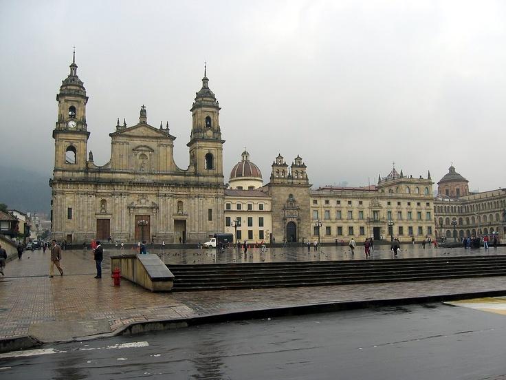 Plaza de Bolivar. Bogotá, Colombia