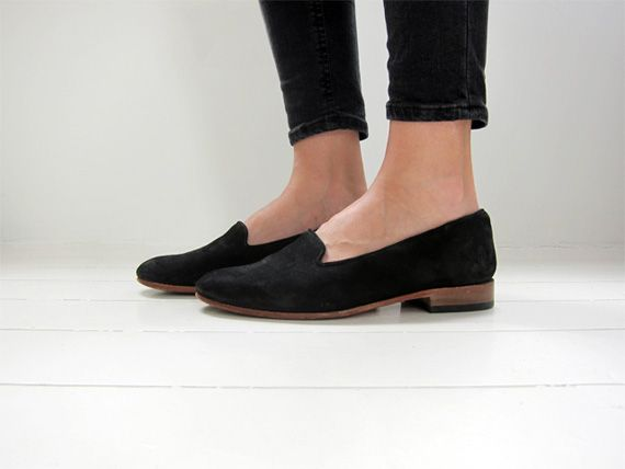 black suede loafers <3 HandCrafted In Virginia