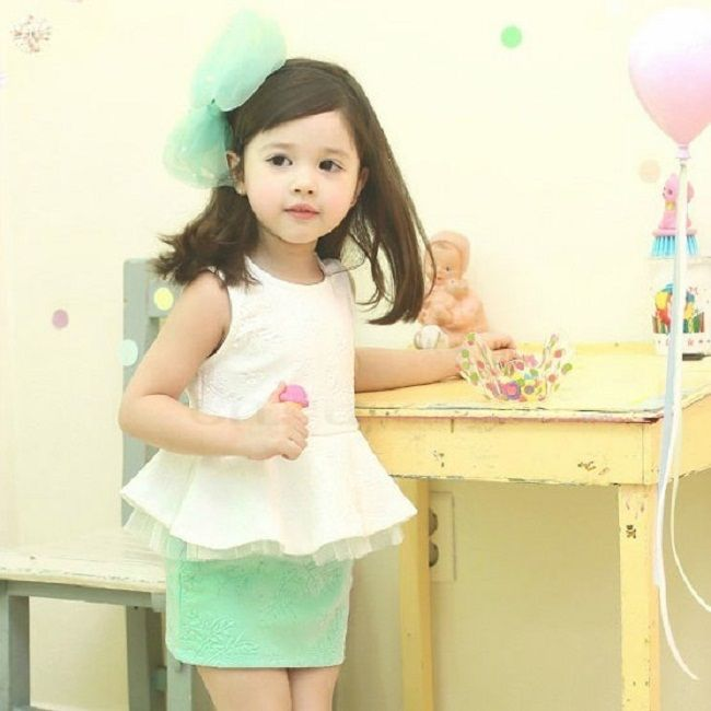 peplum dress toddler
