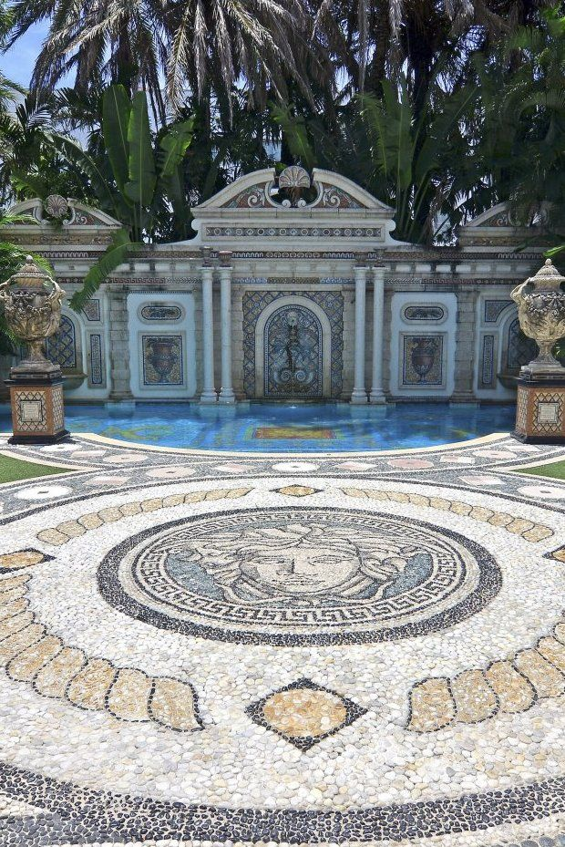 versace mansion house pinterest
