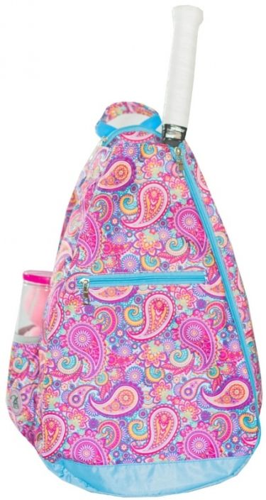 Love Tennis Bag? Here's our  Mary Lou (Paisley) NTB Ladies Tennis Backpack! Find plenty of Tennis Accessories here at #lorisgolfshoppe
