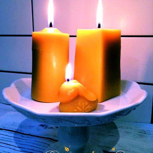 Beeswax Pillars   #beeswax #beeswaxpillar #pillar #candles