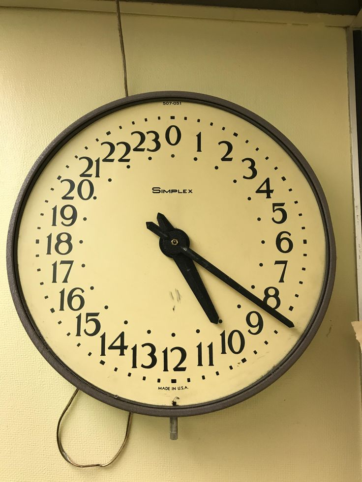 My local police department has a 24 hour clock
