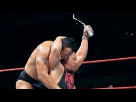 The rock oversells every stone cold stunner