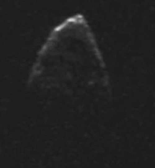 Forces that hold rapidly spinning near-Earth asteroid together discovered -- Astronomers studied near-Earth asteroid 1950 DA and discovered that the body, which rotates extremely quickly, is held together by cohesive forces called van der Waals, never detected before on an asteroid. | ScienceDaily