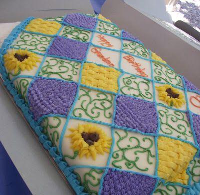 Quilt Cake  http://deleeciouscakes.com