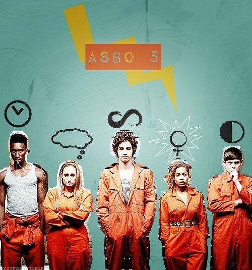 Misfits - this is literally the best show I've ever seen. It's literally my life now