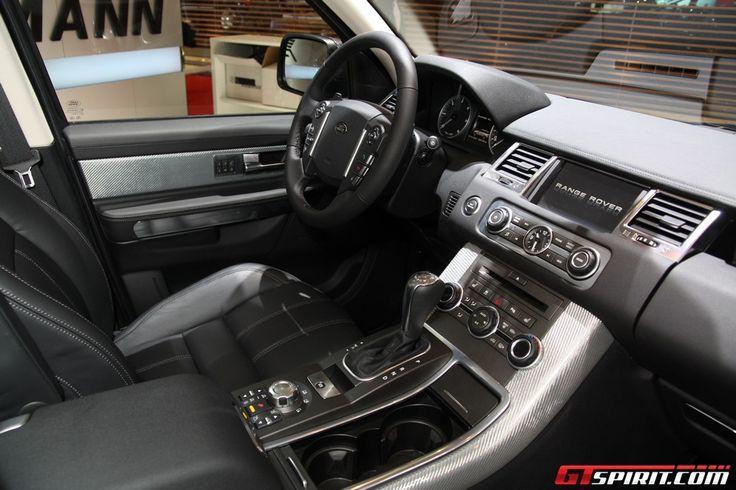 2010 Range Rover Sport Interior Black 2010 range rover sport