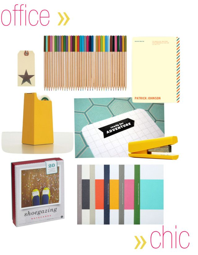 there's almost nothing better than getting cool office supplies.