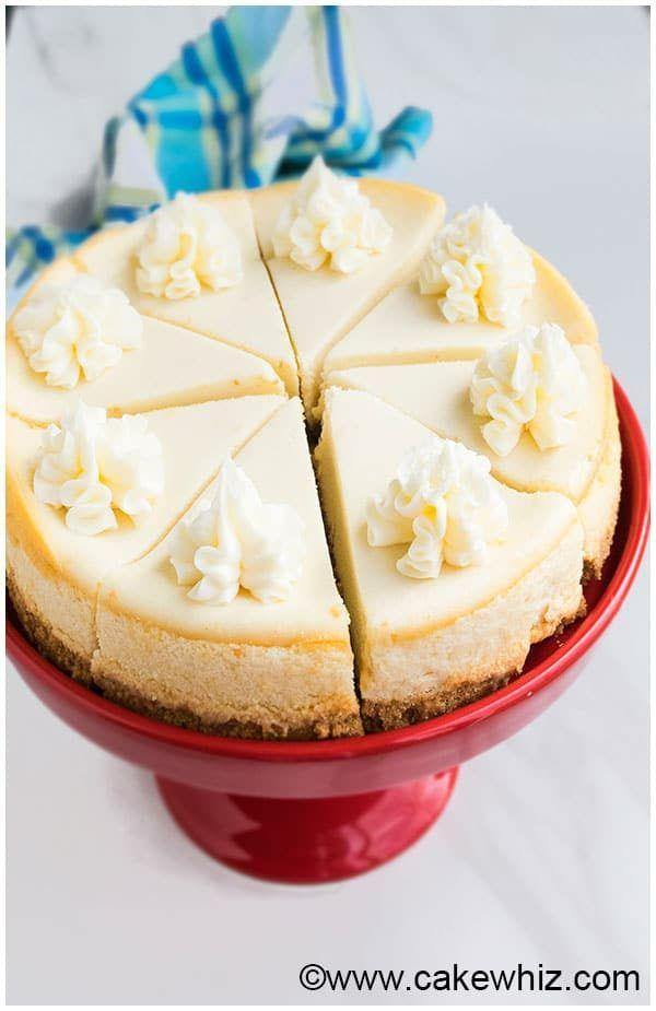 New York Cheesecake Recipe No Water Bath Cheesecake Recipe No Water Bath Cheesecake Recipes Cheesecake Recipes Classic