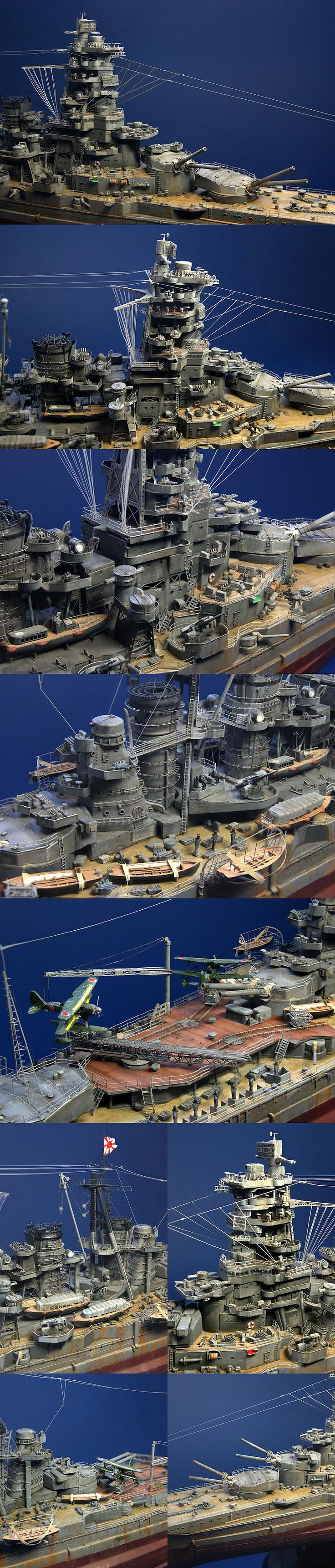 battle ship 'Kongo'  Finished Model by ZEKE - M STUDIO Artist