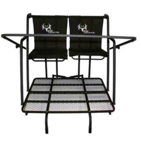 Bone Collector 15' Bow Hunter's Deluxe Two-Man Ladder Stand hunting camping
