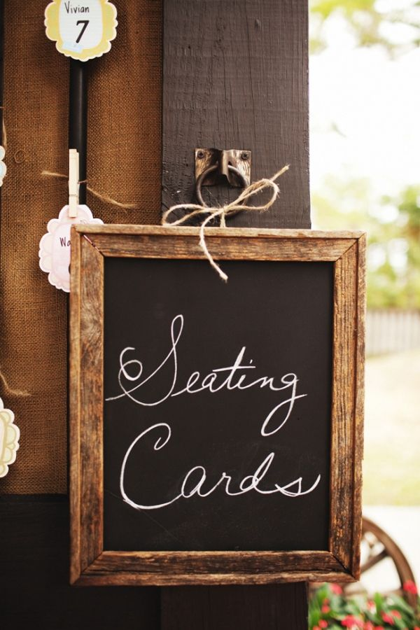 LOVE the woodsy frame on this chalkboardFrames Chalkboards, Chalkboard Signs, Chalkboards Painting, Chalkboard Paint, Chalkboards Signs, Tables Numbers, Picture Frames, Pictures Frames, Diy Florida